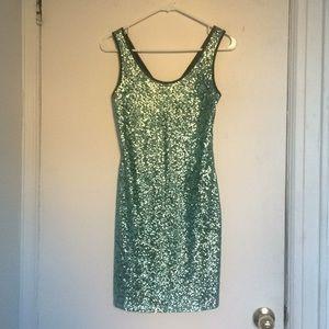 Sparky green dress